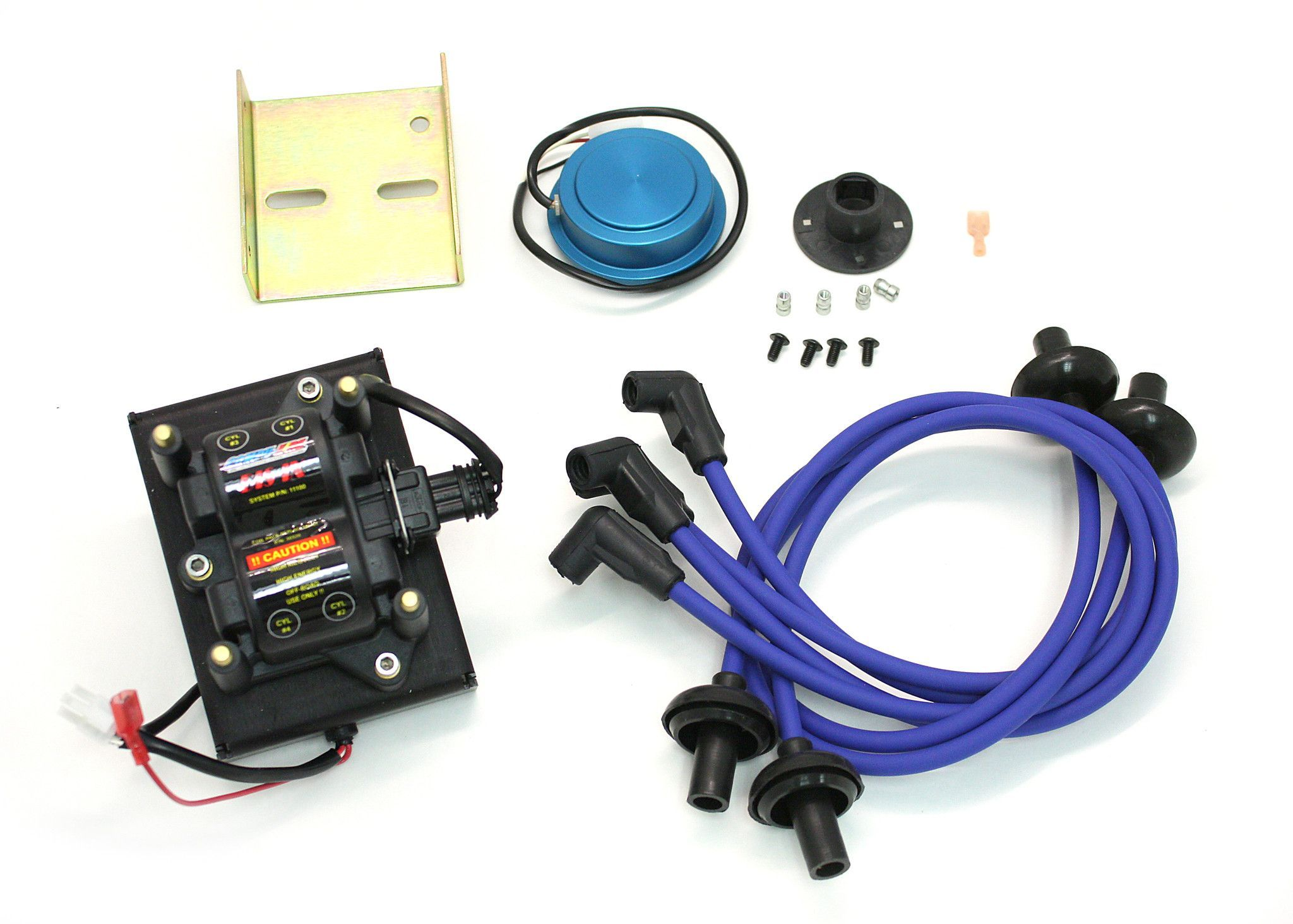 CompuFire Distributorless Ignition System for Bosch 009 Distributor with  Blue Wires