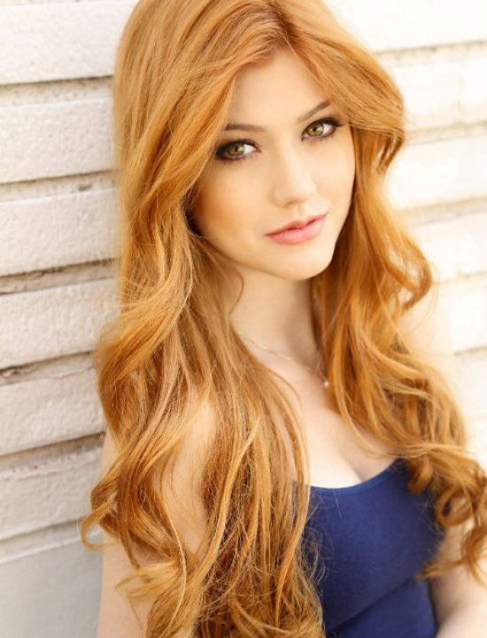 21 Awesome Hairstyles In Winter S Hottest Colors Crazyforus Strawberry Blonde Hair Long Blonde Hair Hair Styles