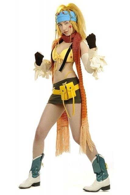 Rikku final fantasy x she may not be the strongest fighter but rikku final fantasy x she may not be the strongest fighter but shell certainly rob you voltagebd Choice Image