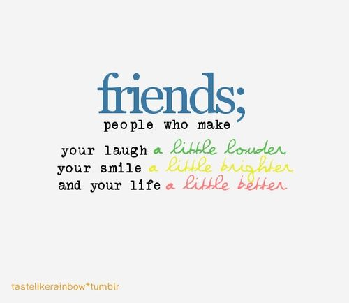 Smile Quotes For Friends