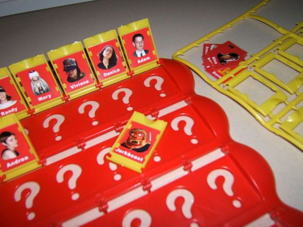 Personalized Guess Who Gift Christmas Gifts And Children Art Projects