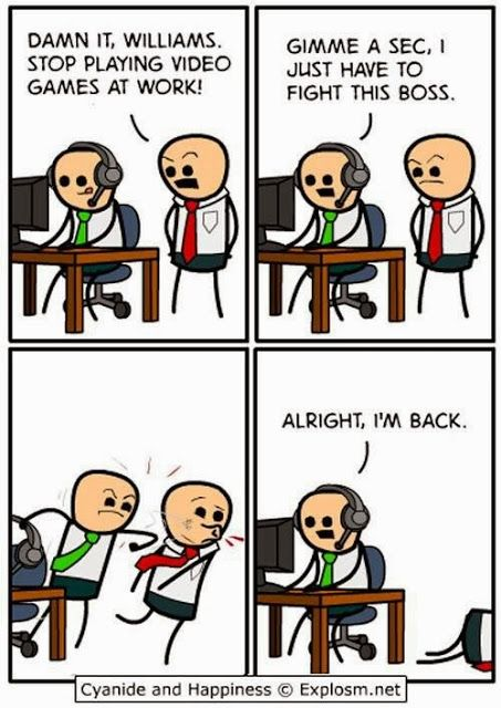 It S Humpday Humour Cyanide And Happiness Cyanide And Happiness Funny Video Game Memes Video Games Funny