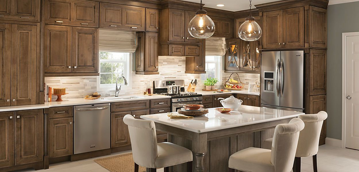 Room Gallery Schuler Cabinetry Durham Maple Eagle Rock
