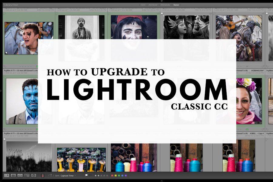 How to upgrade lightroom