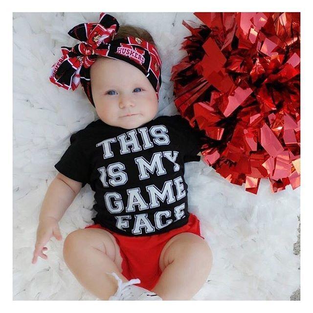 •THIS IS MY GAME FACE• Instant baby fever? Yep, me too! 😍🏈 • • • • • • #cutekidsclub #igfashion #kidzootd #instagram_kids #trendykiddies #babiesofinstagram #kidzfashion #kidslookbook #kids_stylezz #thechildrenoftheworld #igkiddies #disney #slay #parenthood #mommy #mommylife #mom #momlife #allmommedout #motherhood #mother #ilovefootball #clevelandbrowns #nfl #football