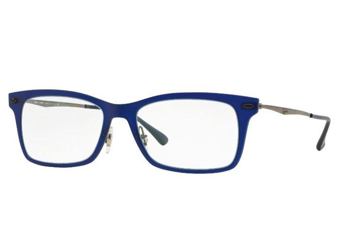 Oculos De Grau Light Ray Titanio Ray Ban Rb7039 5451 Tam 53
