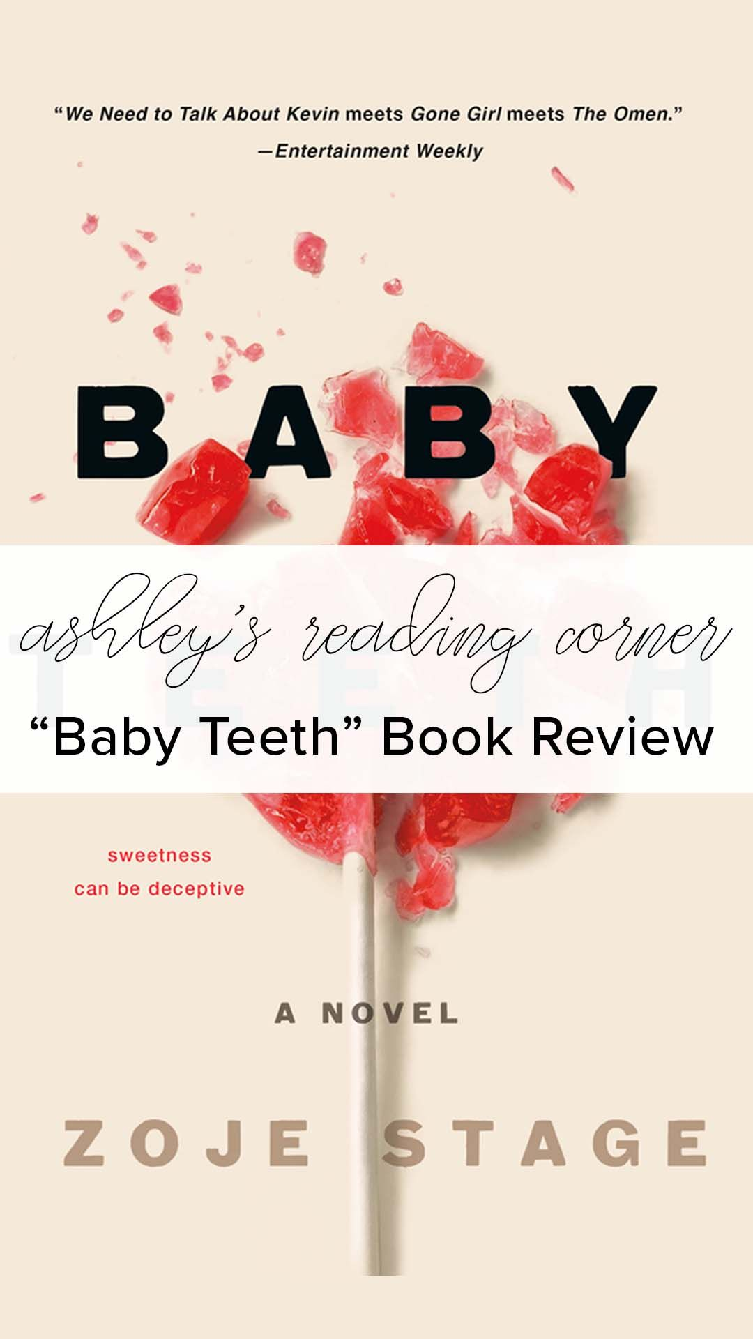 Baby Teeth By Zoje Stage Review Reading Tbr Readinglist Babyteeth Newbook 2018books Baby Teeth Teeth New Books