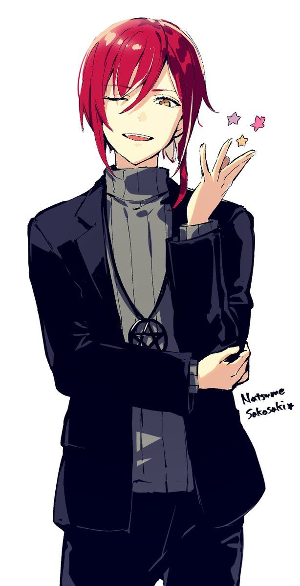 Edamaru On Twitter Red Hair Girl Anime Anime Red Hair Anime Boy Hair