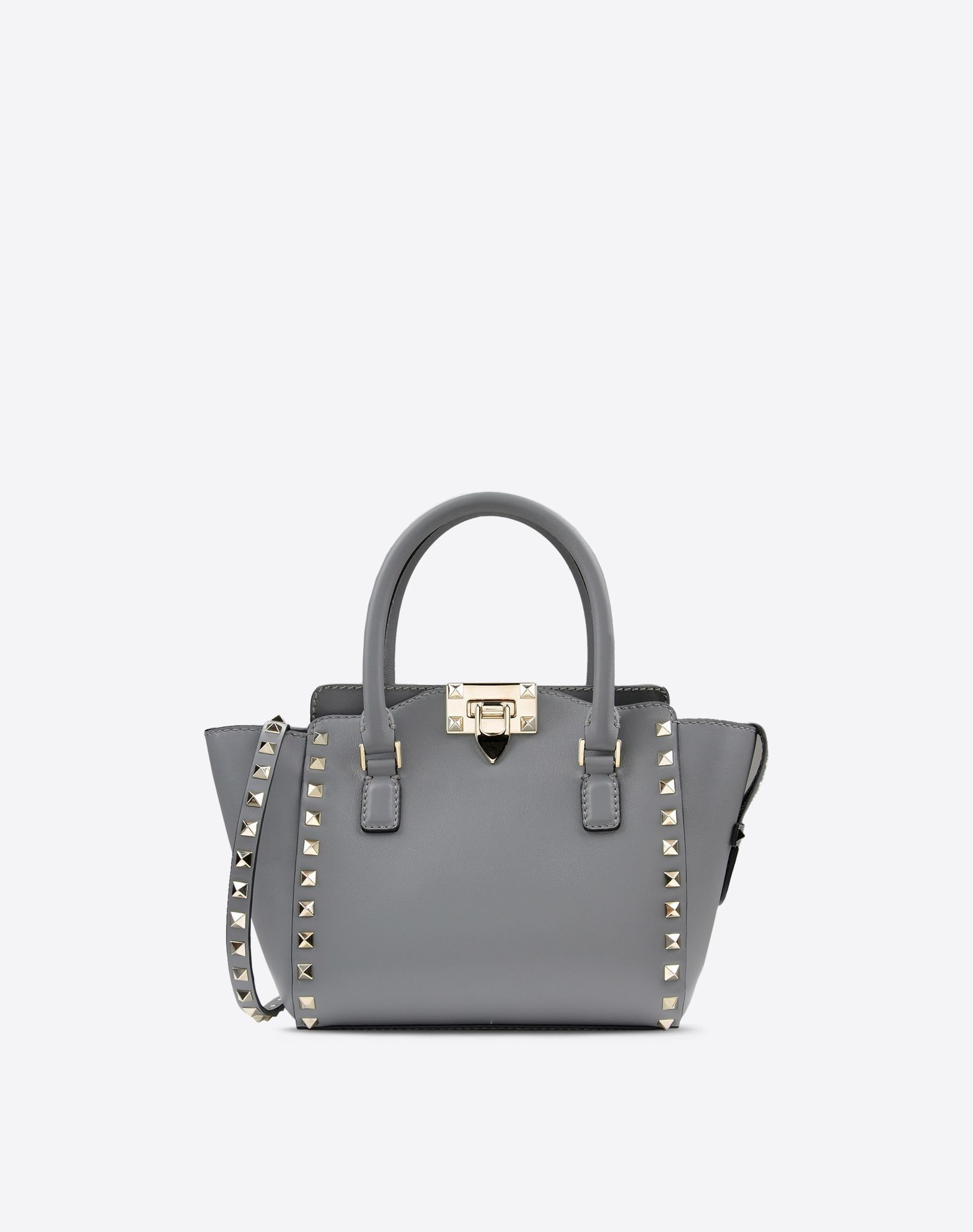 f9870a01d7e8 Valentino Rockstud Mini Double Handle Bag