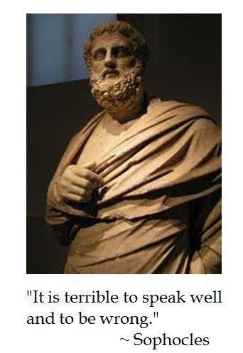 Sophocles on Communication