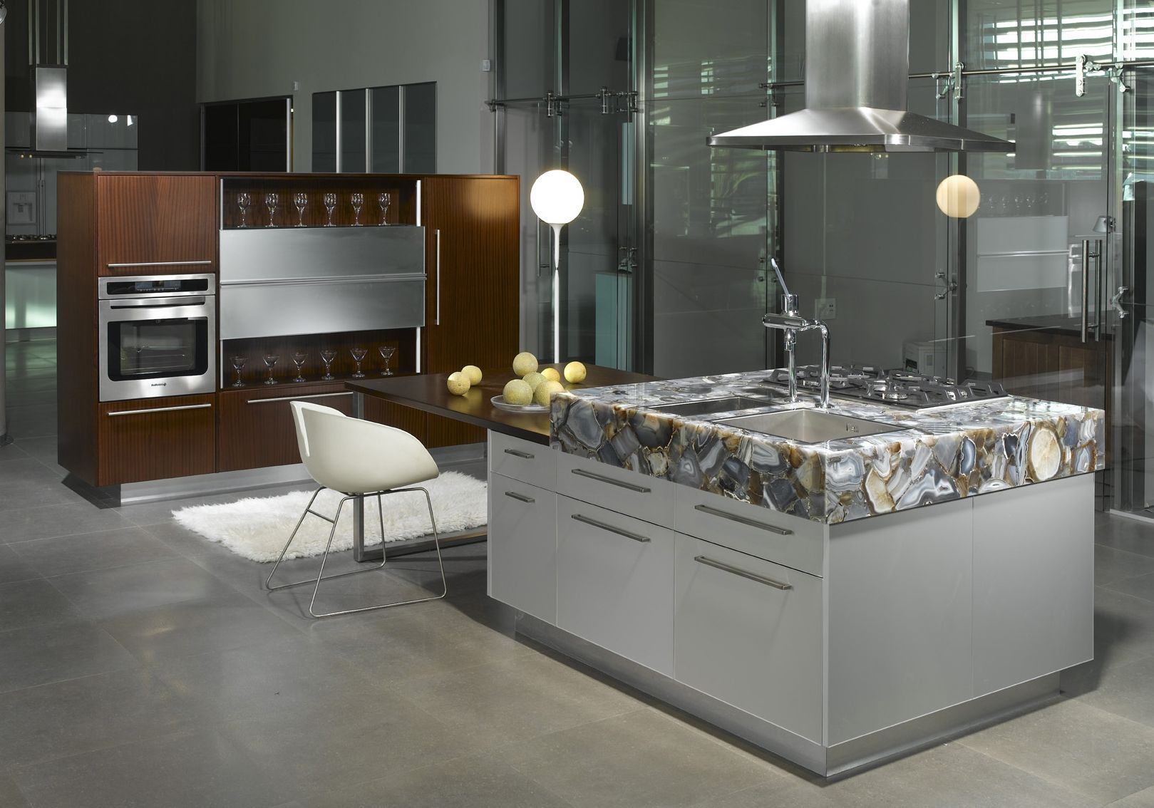 Caesarstone Concetto 8311 Gray Agate Is A Masterpiece That Gives An Added Value To Your Kitchen Www Caesarstone Sg Haus Deko Dekor Kuchendekoration