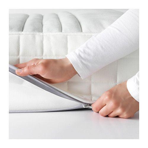 Matrand Matelas Latex 140x200 Cm Mi Ferme Blanc Ikea For My