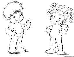 Resultado De Imagen Para Silueta Nina Nino Para Colorear El Cuerpo Humano Infantil Cuerpo Humano Para Ninos Partes Del Cuerpo Humano