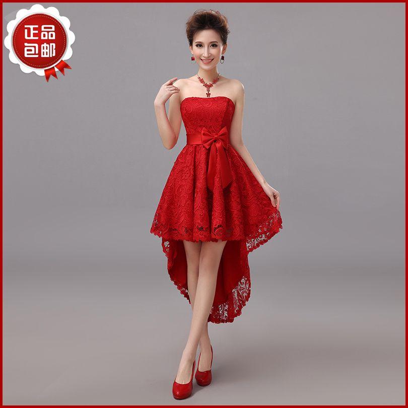 247d96a6f09f vestidos de damas corto y largo color rojo - Buscar con Google ...