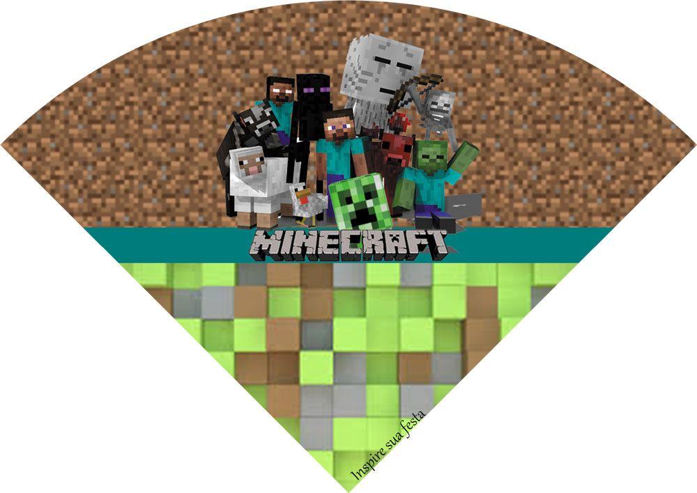 Letras Minegraft Fazendo A Nossa Festa: Minecraft - Kit Digital Gratuito