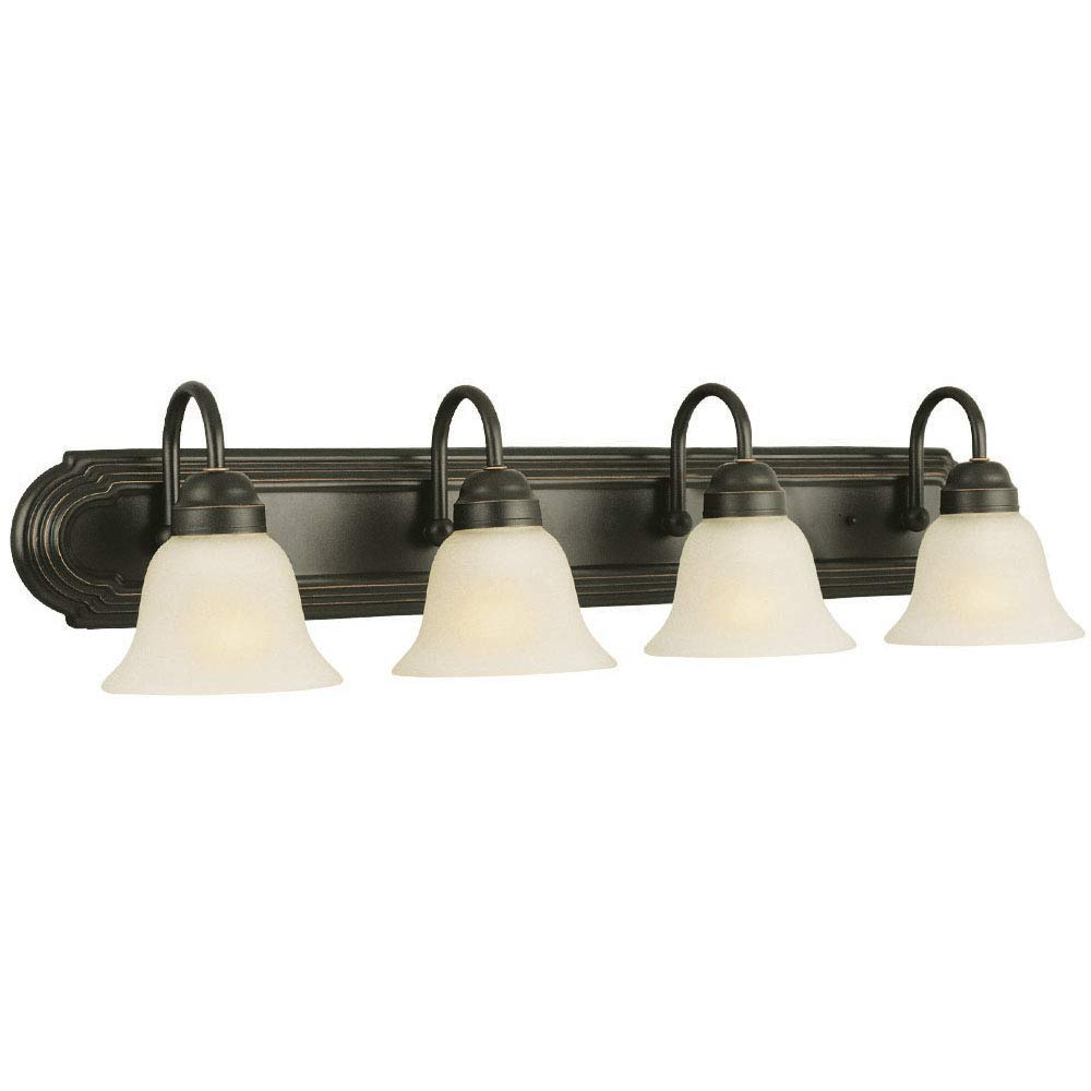 Design House 506626 Allante 4 Light Vanity Light Oil Rubbed Bronze Oil Rubbed Bronze Bathroom Oil Rubbed Bronze Light Fixtures Bronze Bathroom Light Fixtures