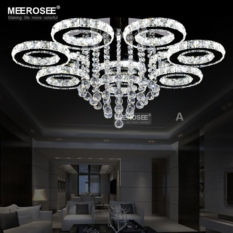New arrival led crystal chandelier light lustres de cristals lamp new arrival led crystal chandelier light lustres de cristals lamp for living room diamond crystal light mozeypictures Image collections