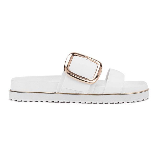 227d962c5 Senso Women s Kada Leather Double Strap Sandals - Ice (285 AUD) ❤ liked on