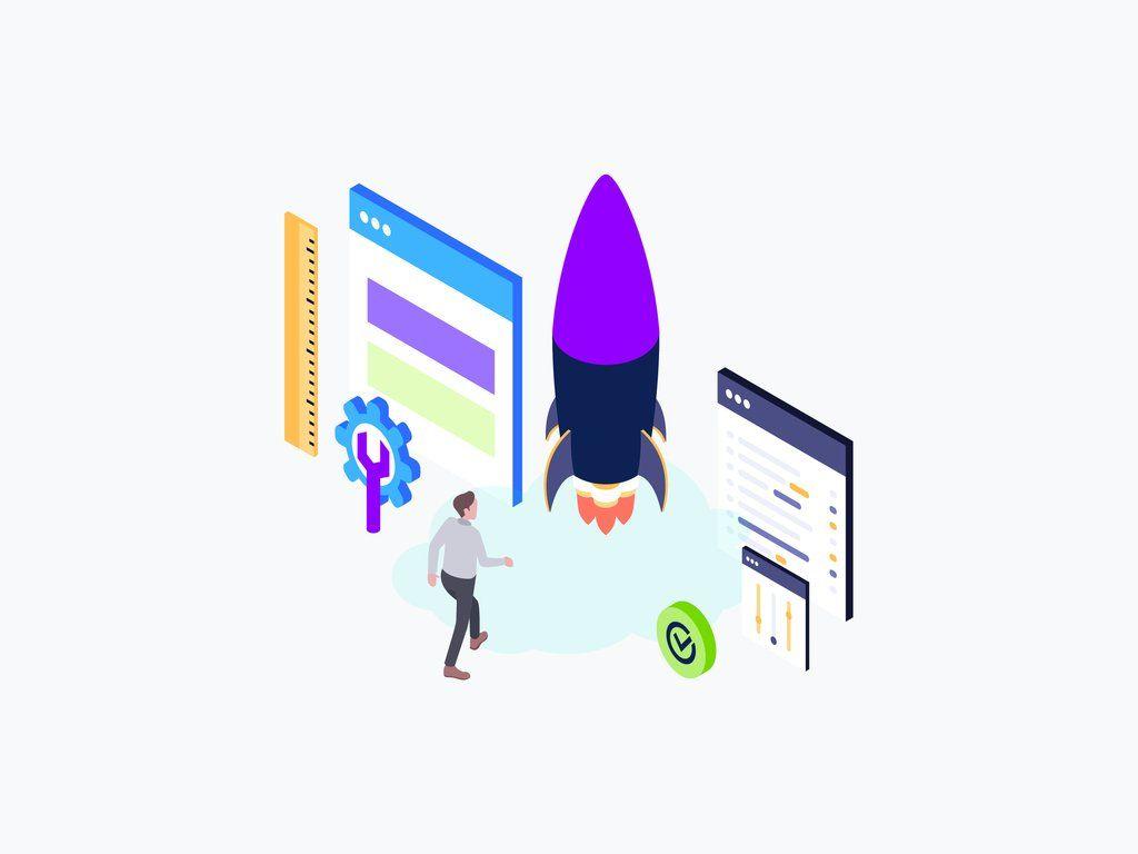 Web Development Isometric Graphic Web Development Trends Isometric Illustration Web Design Tips