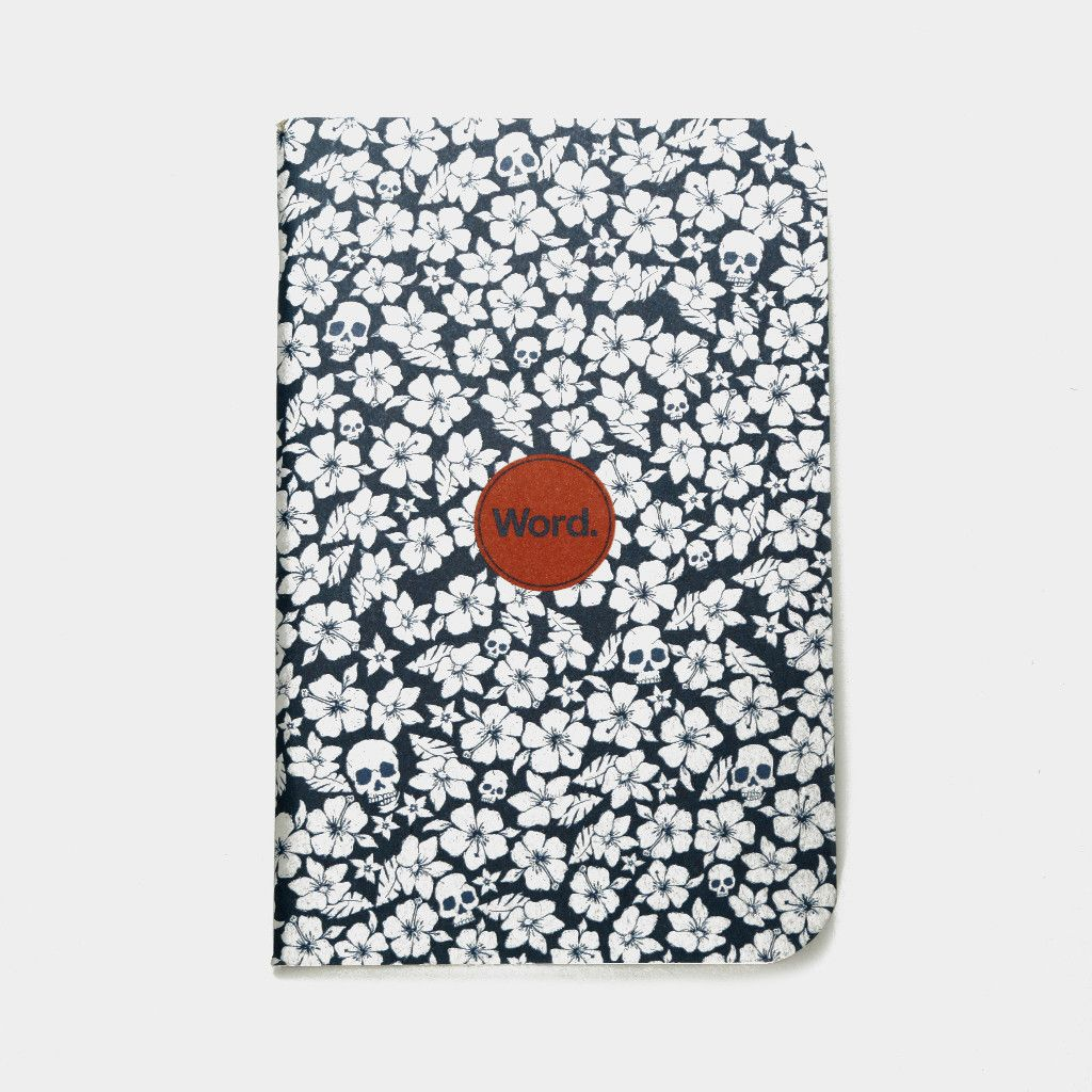 Word. Notebooks Blue Floral (3pk) – Word Notebooks