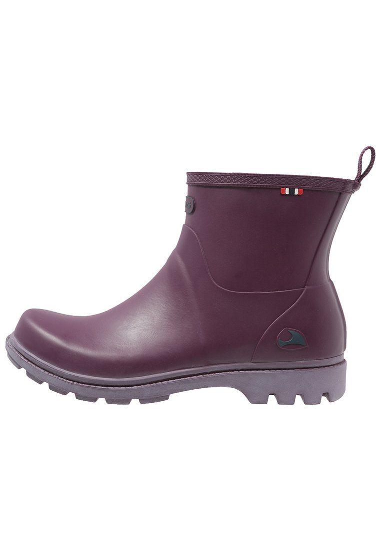 Viking NOBLE - rubber boot - plum -