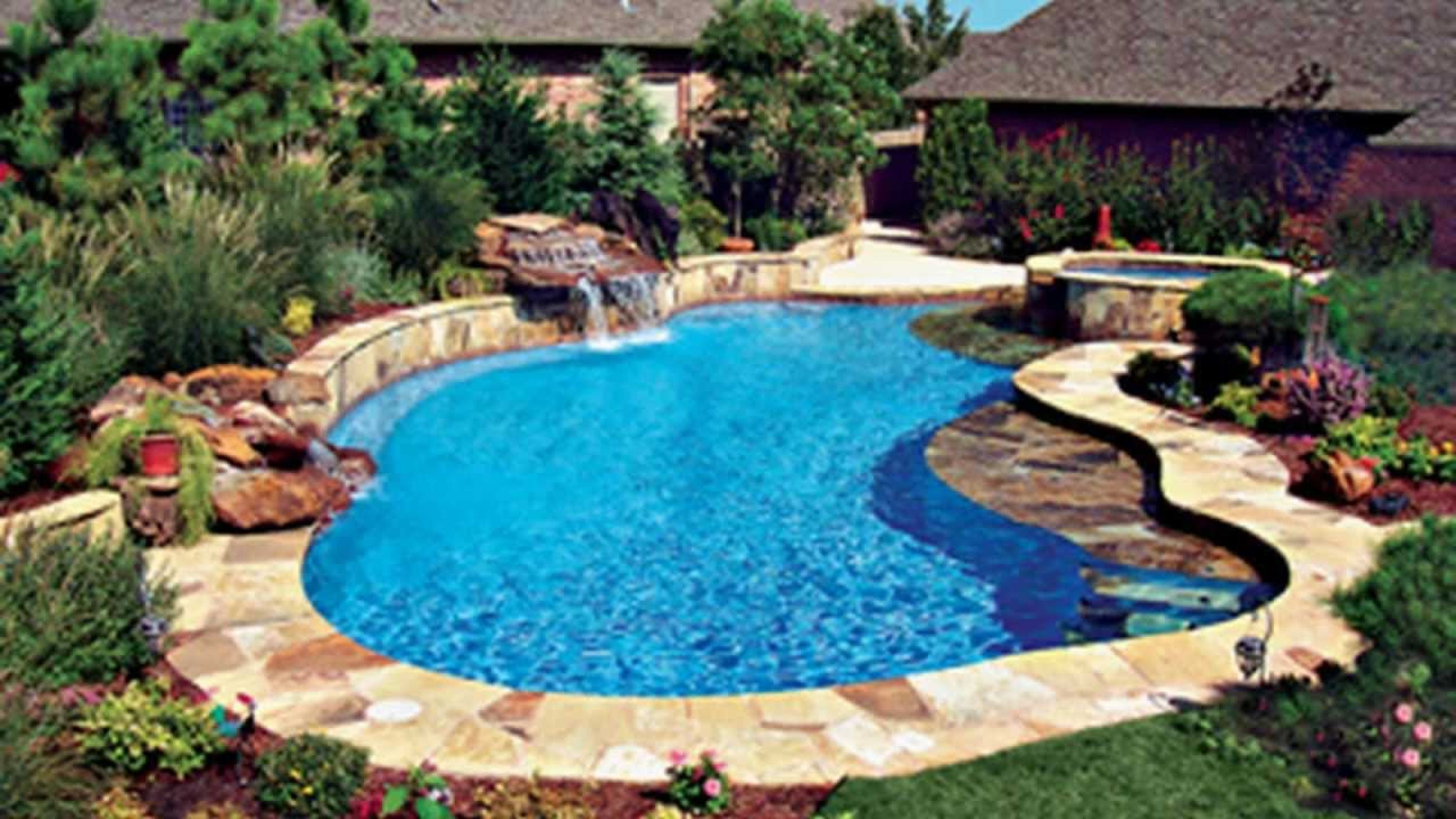 Cool Swimming Pools - interior paint color ideas  Backyard pool