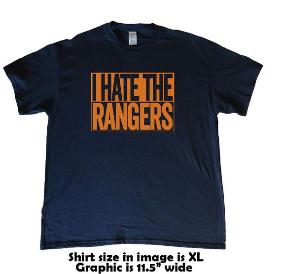 I Hate The Rangers  Houston Astros T-Shirt  Show by BeefShirts