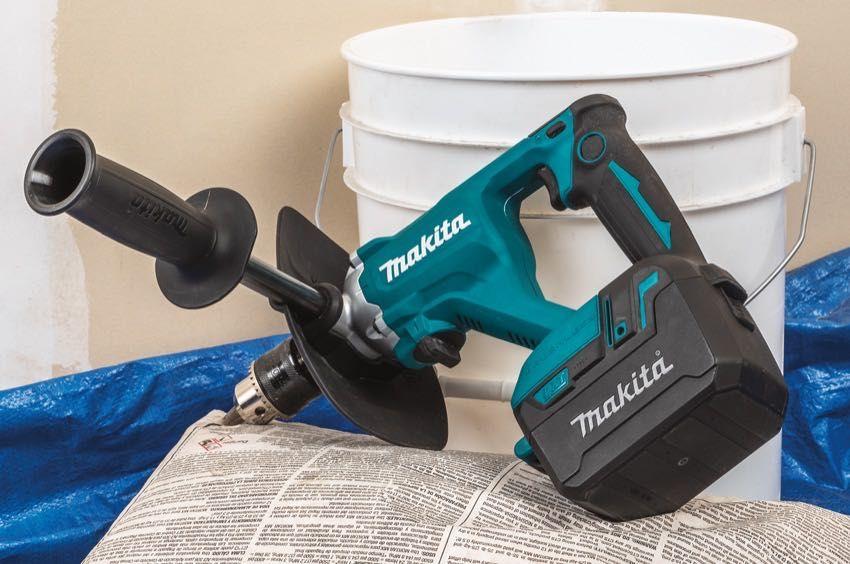 Makita 18v Cordless Mixer Xtu02 Pro Tool Reviews Makita Drywall Mud Mud Plaster