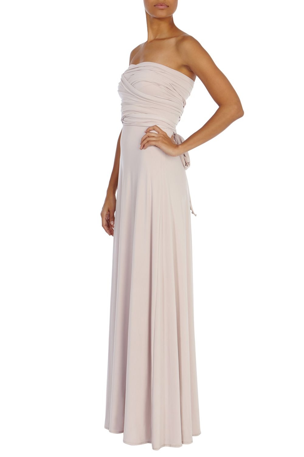 Bridesmaid Dresses | Pinks CORWIN MULTI TIE DRESS | Coast Stores ...
