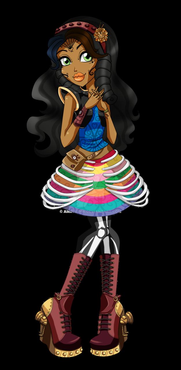 Monster High Freaky Fusion .:Robelita:. by Airinreika