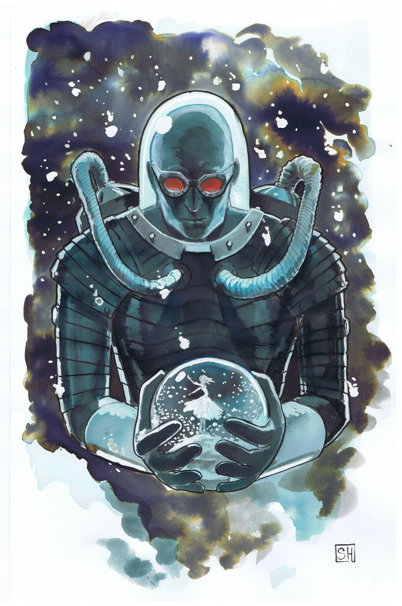 mr freeze by stephanie hans batman overload pinterest