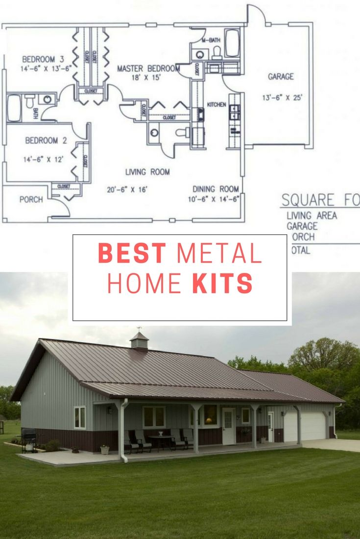 Best Metal Home Kits We Managed To Find | Steel frame, Building and ...