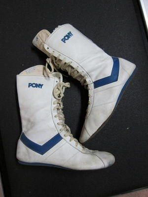 Vintage Pony Boxing Boots Wbdf 2018