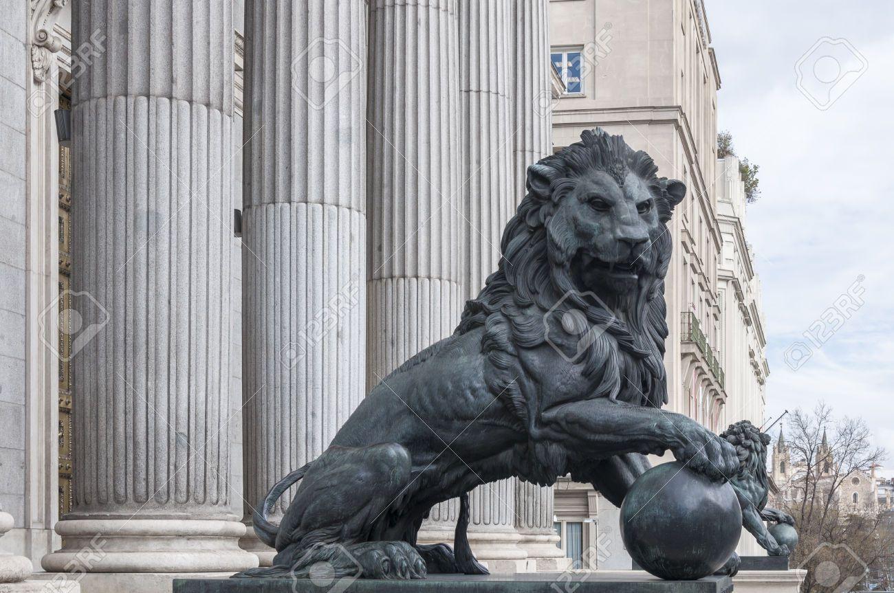 madrid lion statue Google Search Statue, Lion