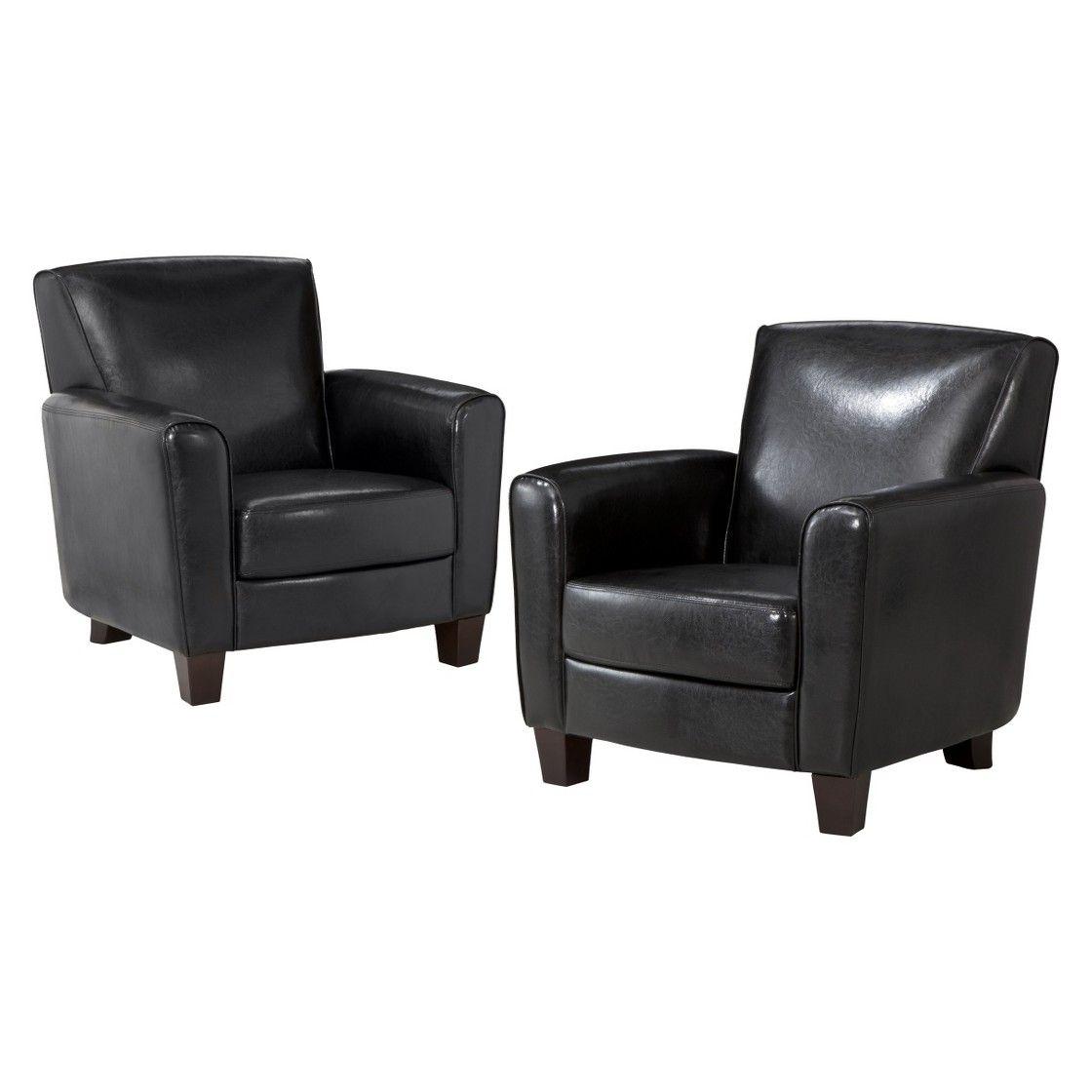 threshold nolan club chair  2 pack  living room chairs