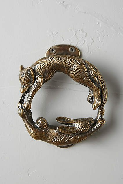 Anthropologie Forest Friendship Doorknocker