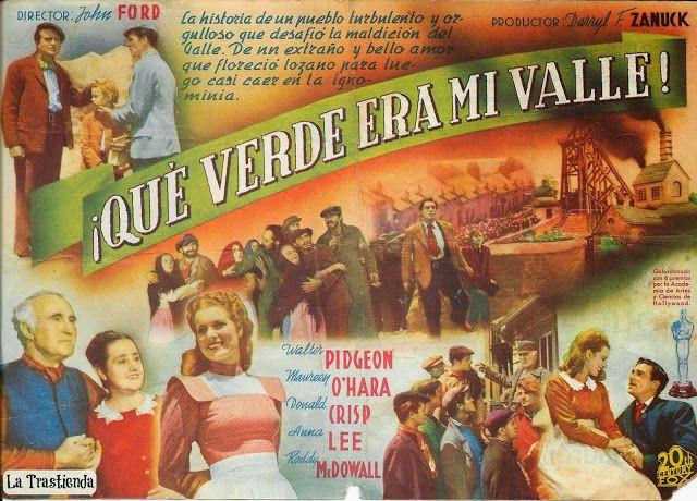 Programa De Cine Qué Verde Era Mi Valle Programa De Cine Películas Completas Cine