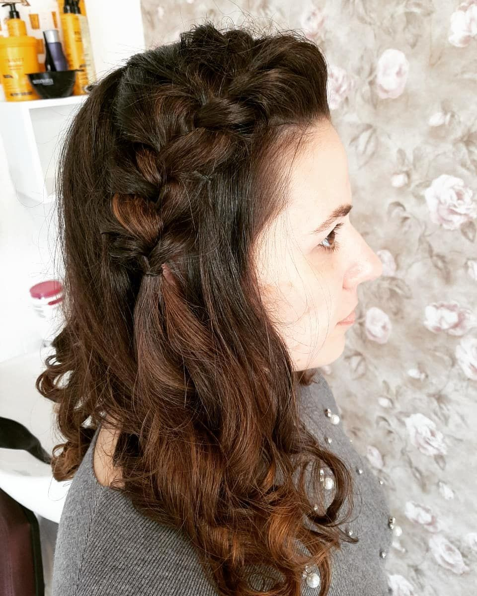 😍 #hair #hairs #hairfashion #hairstyle #hairdecoration #penteados #inspiration #fashions #girl #girl...