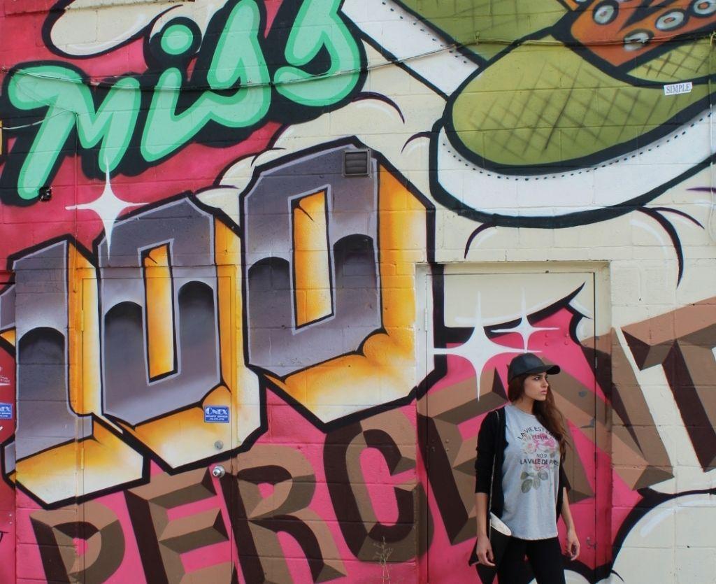 downtown toronto graffiti #fashion district