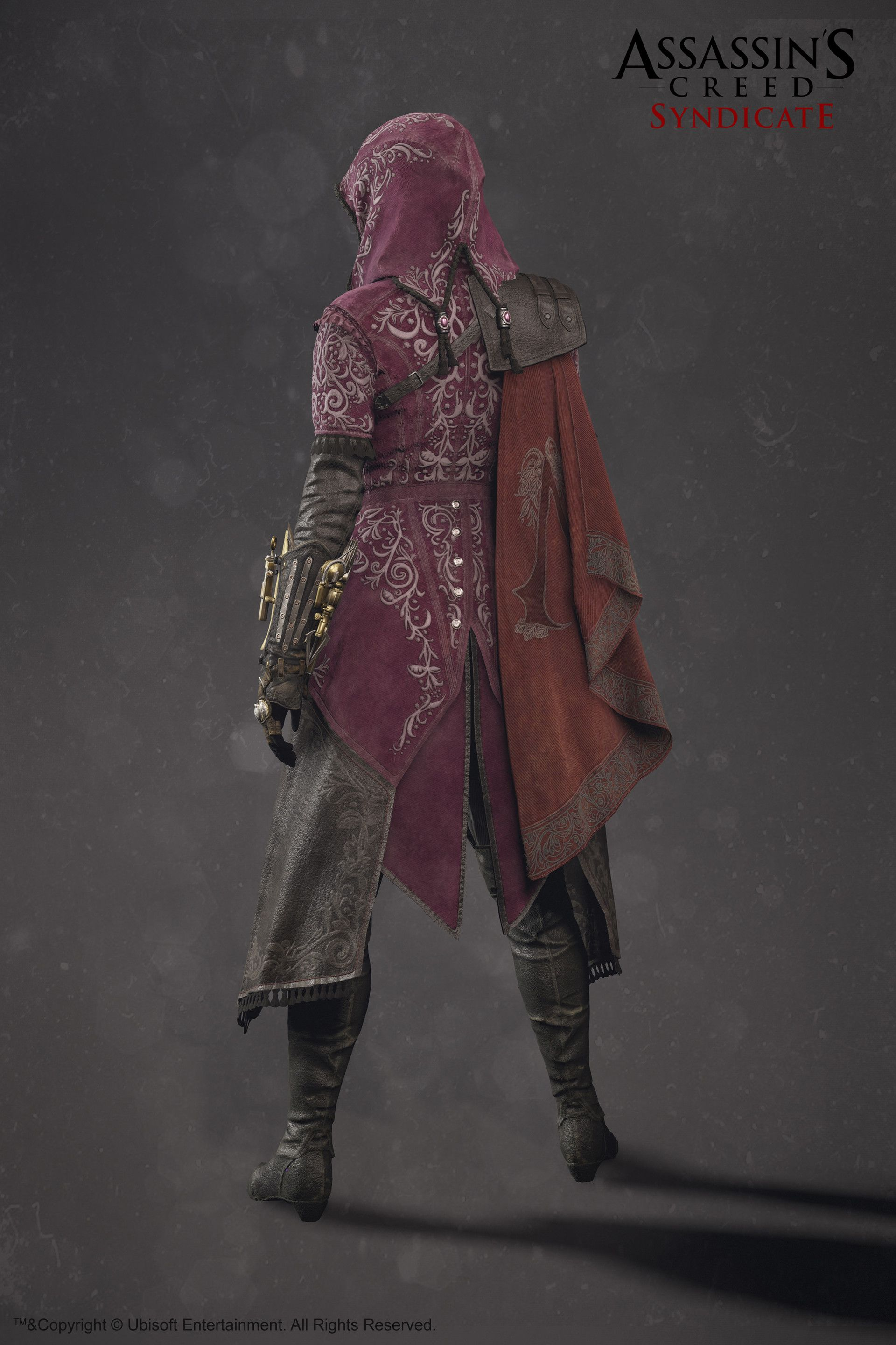 Evie Frye Outfit Assassin S Creed Syndicate Sabin Lalancette Idée Costume Robe Médiévale Personnages
