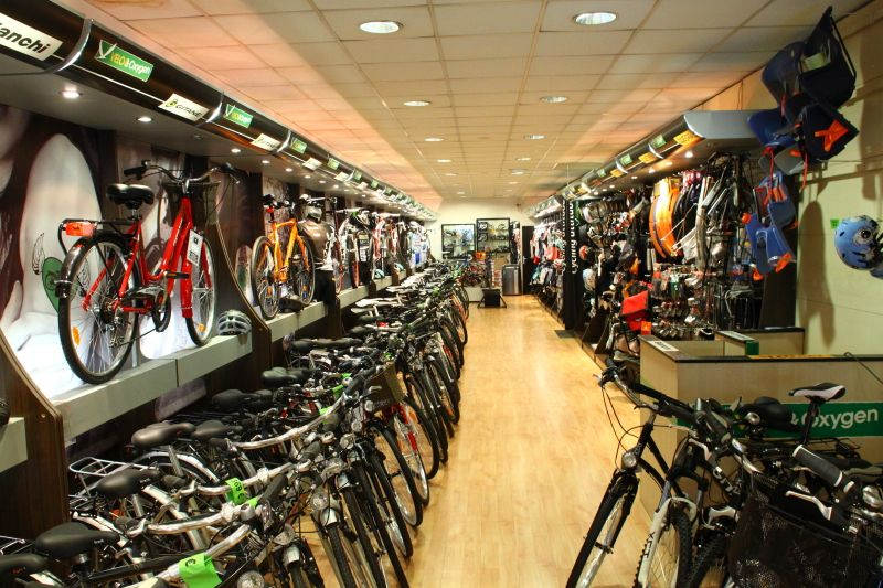 Bike Shop Retail Design Sports Equipment Shop Design Dense
