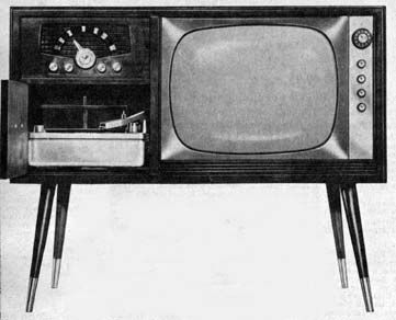 1950s Television Cabinet Stock Photos & 1950s Television ...