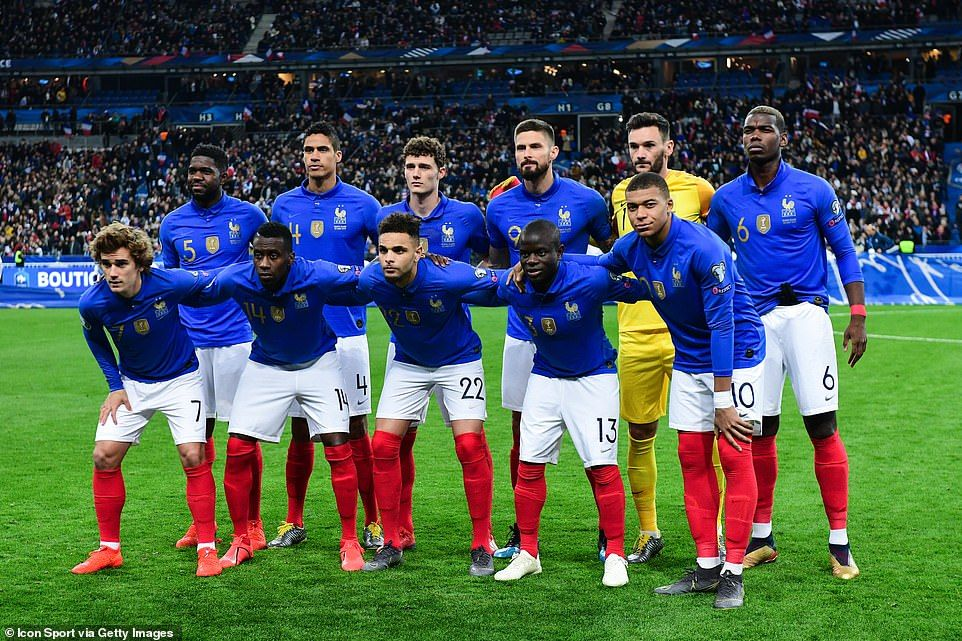 France continue perfect start to qualifying campaign with