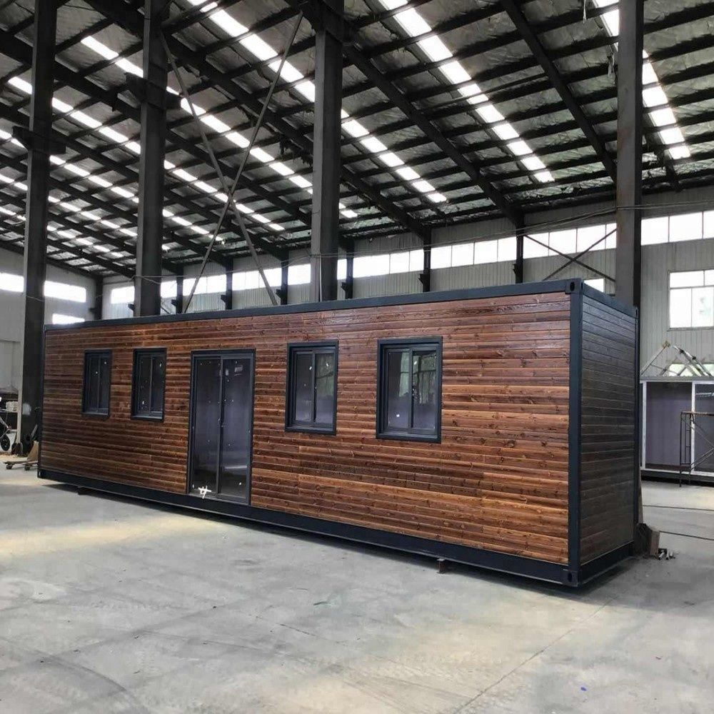 Simple Shipping Container Homes: Simple Prefab Log Cabins Wooden Small House Romania