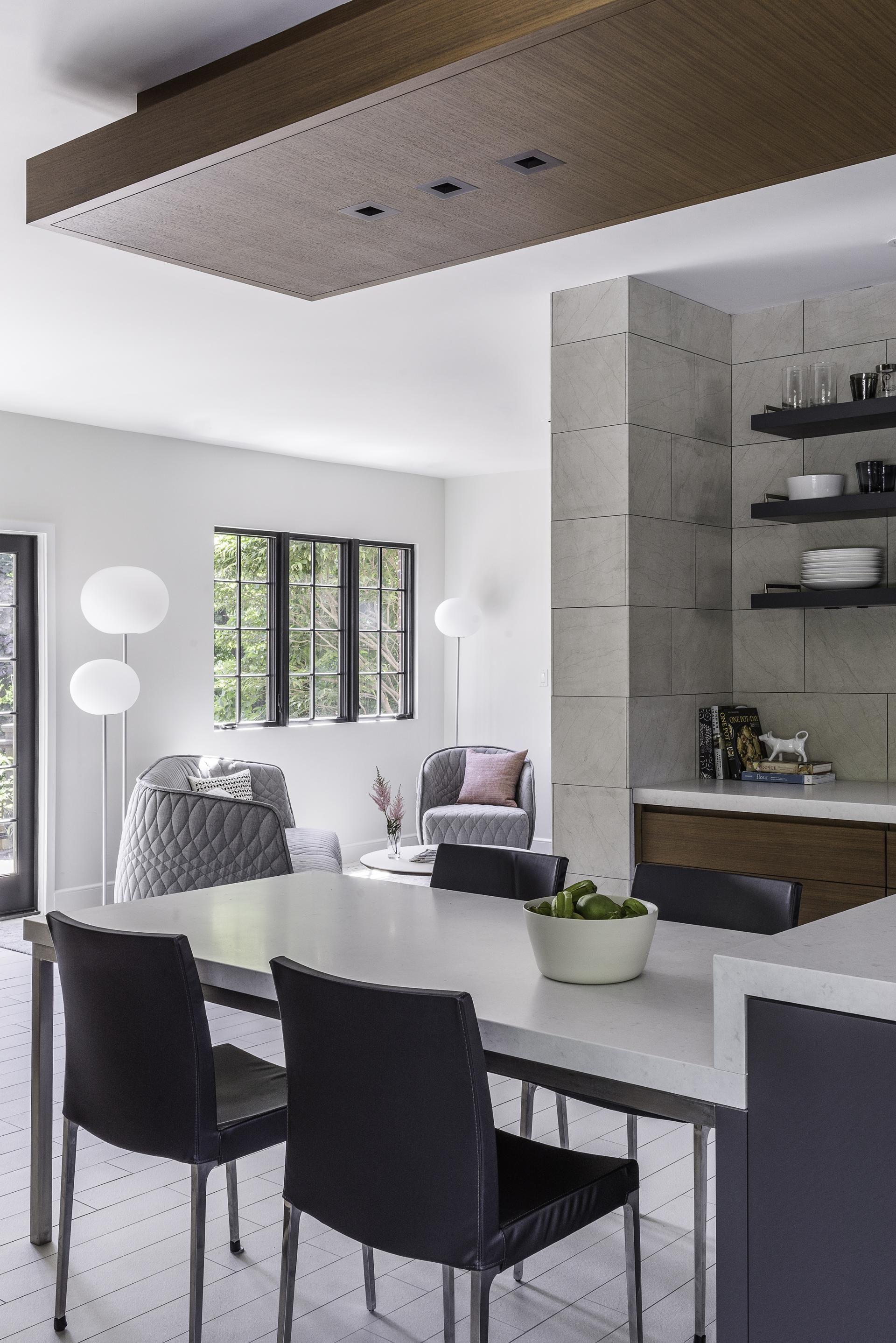 Bringing Urban Style To A Newton Home  Kitchens Apartment Living Amusing Kitchen Design Massachusetts Decorating Inspiration