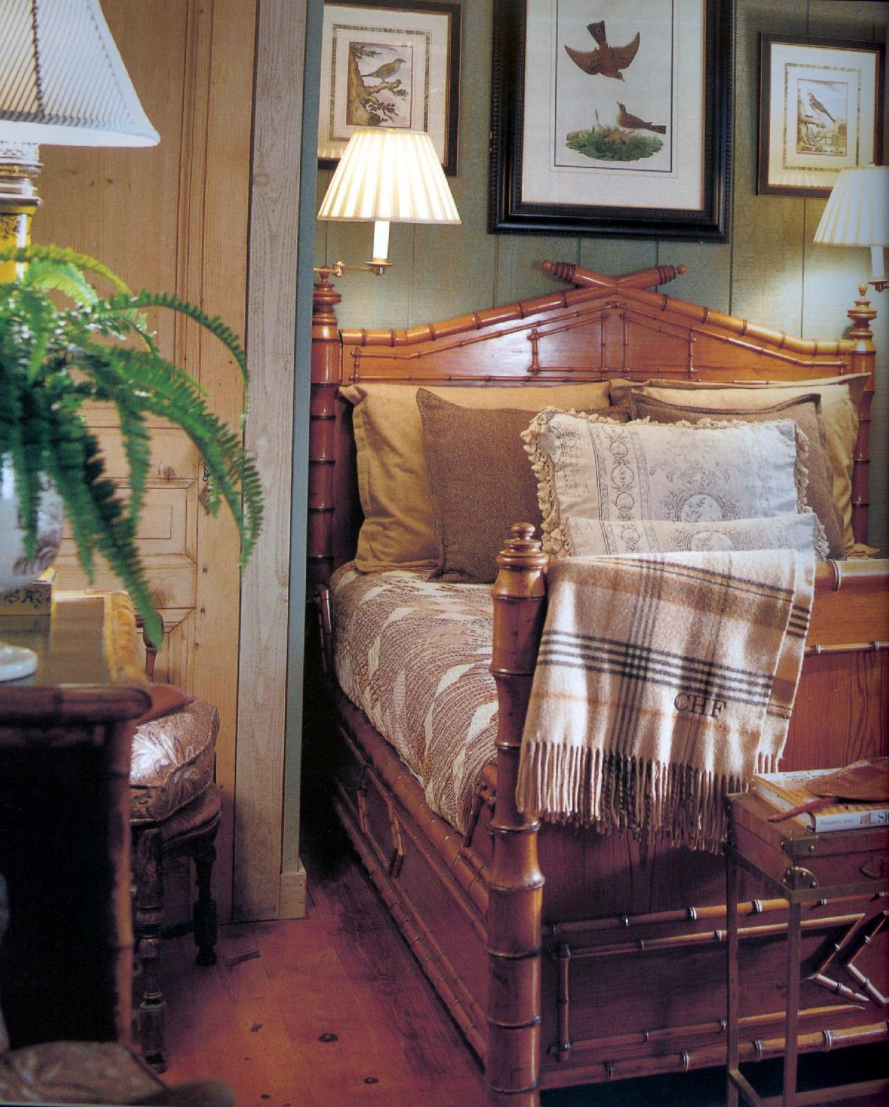 Charles Faudree S Country Cabin: Charles Faudree...Cabin Bedroom