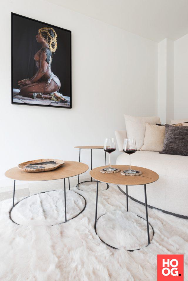 designtafels in modern interieur | woonkamer ideeën | living room ...