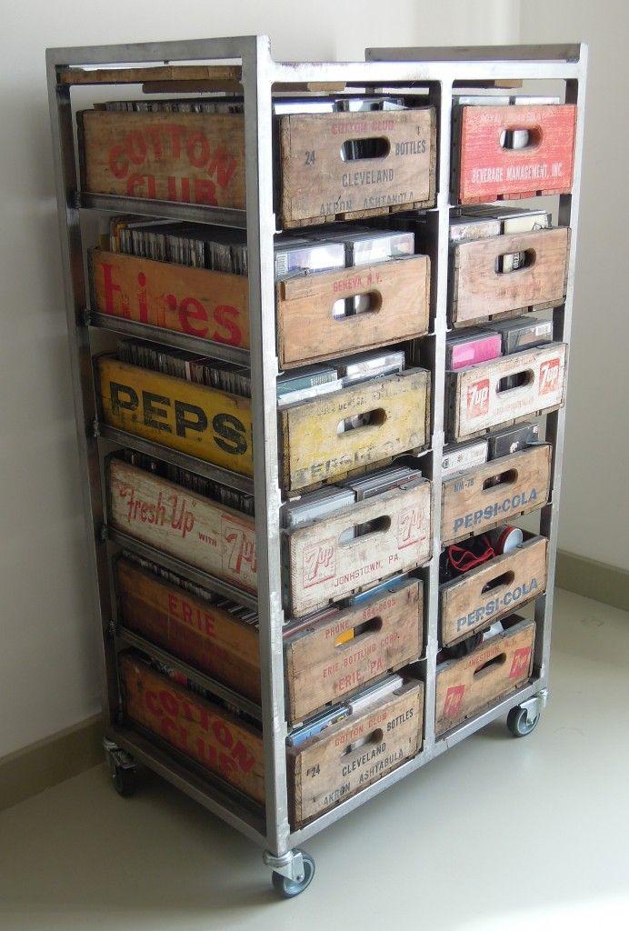 Vintage Styling Tips Vintage Packaging Wooden Crates