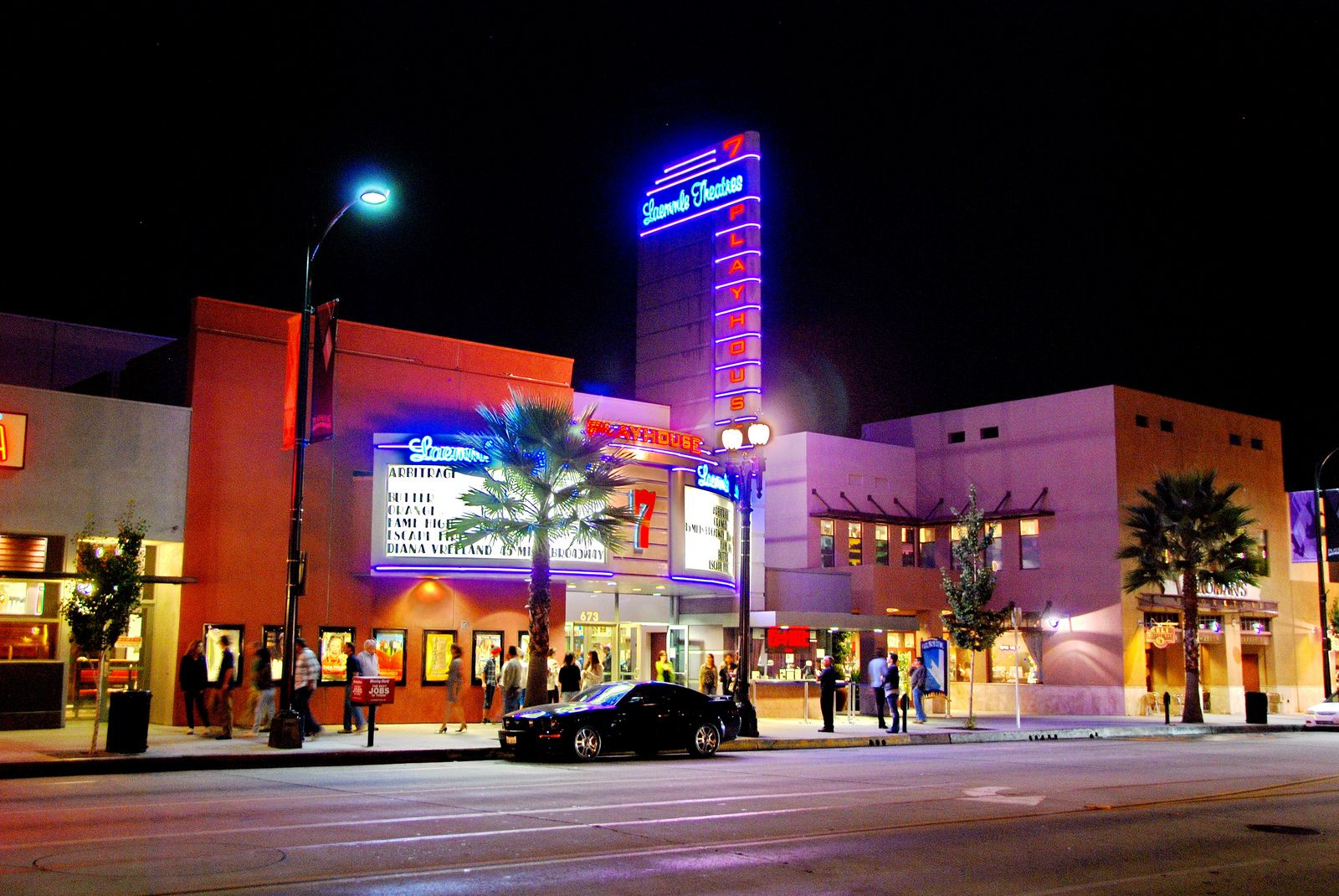 Los angeles art house theaters