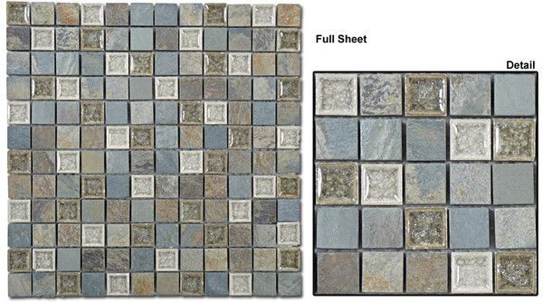 Gt 1x1 Mosaic Tranquil Series May Qualify For Free Shipping Mosaic Mosaic Tiles Stone Mosaic